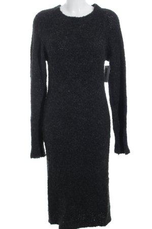 Noisy May Maxikleid schwarz-grau meliert Elegant