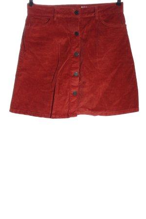 Noisy May Mini rok rood casual uitstraling