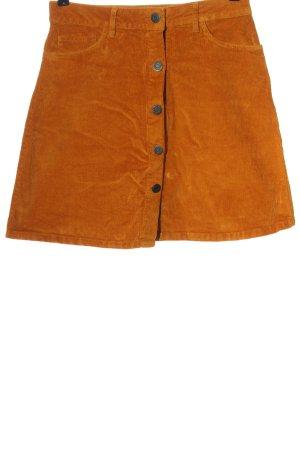 Noisy May Mini rok licht Oranje casual uitstraling
