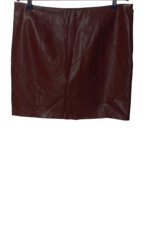 Noisy May Mini rok bruin casual uitstraling