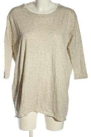 Noisy May Camicia oversize grigio chiaro puntinato stile casual