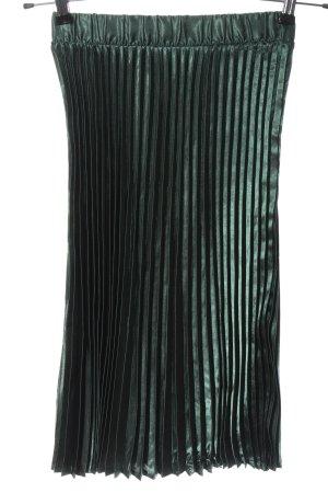 Noisy May Pleated Skirt green elegant