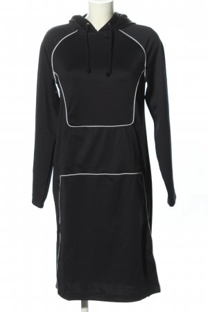 Noisy May Vestido tipo jersey negro look casual