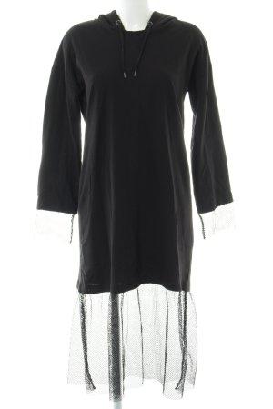 Noisy May Pulloverkleid schwarz Casual-Look