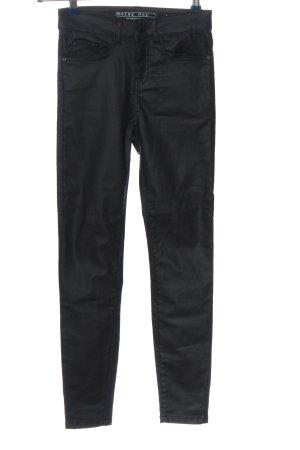 Noisy May Drainpipe Trousers black casual look