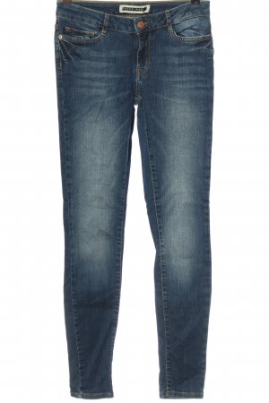 Noisy May Jeans a sigaretta blu stile casual