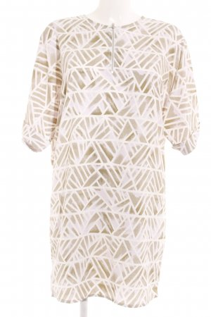 Noisy May Shirt Dress white-pale green abstract pattern casual look