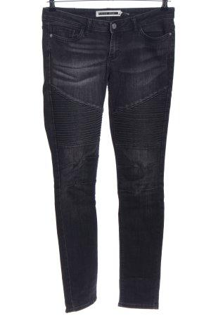Noisy May Skinny Jeans hellgrau-schwarz Casual-Look