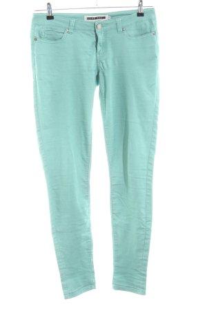 Noisy May Skinny Jeans türkis Casual-Look