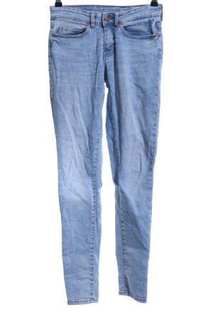 Noisy May Skinny Jeans blassblau Jeans-Optik