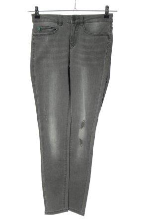 Noisy May Skinny Jeans hellgrau Casual-Look