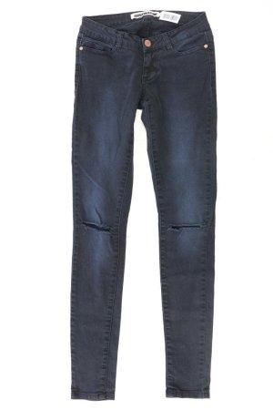 Noisy May Skinny Jeans Größe W25 schwarz aus Baumwolle