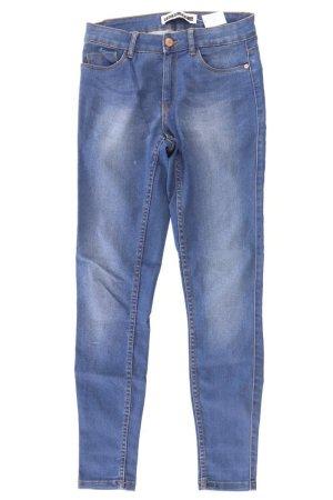 Noisy May Jeans skinny blu-blu neon-blu scuro-azzurro Cotone