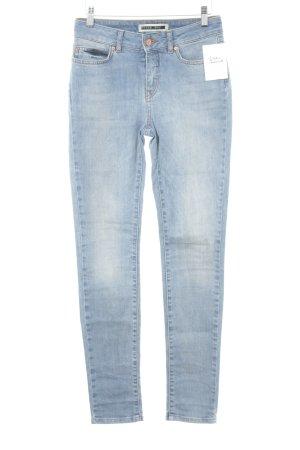 Noisy May Skinny Jeans himmelblau Casual-Look