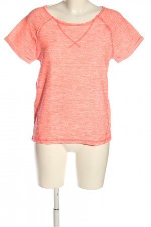 Noisy May Strickshirt hellorange meliert Casual-Look