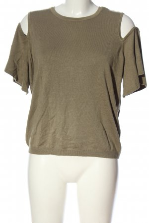 Noisy May Strickshirt khaki Casual-Look
