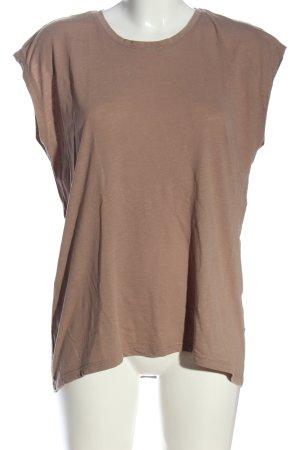 Noisy May T-Shirt braun Casual-Look