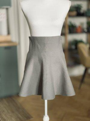 Noisy May Jupe tricotée gris clair-gris