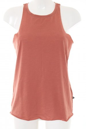 Noisy May Tanktop licht Oranje casual uitstraling