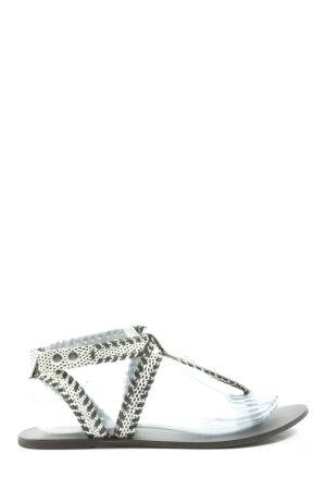 noiz Dianette Sandals white-black casual look