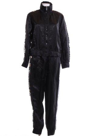 Noka'oi Web Twin Set schwarz extravaganter Stil