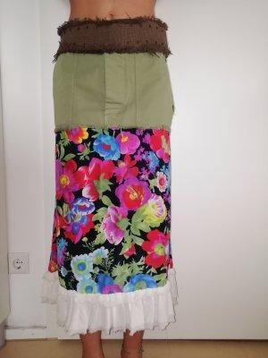 Nolita Jupe mi-longue multicolore coton