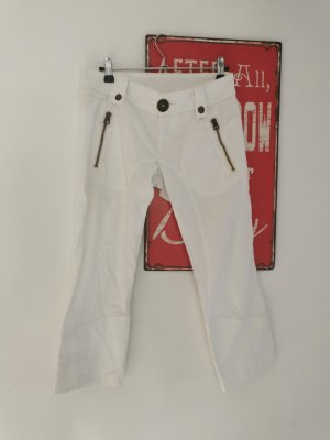 Nolita Pantalone Capri bianco Cotone