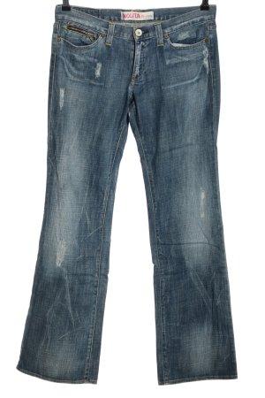 Nolita de Nimes Straight-Leg Jeans blau Casual-Look