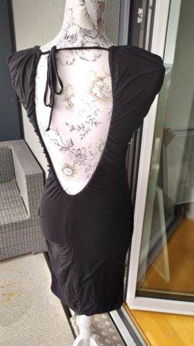 Nolita Kleid gerafft eng schwarz Gr 36 wie neu
