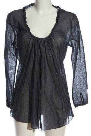 Nolita Camicetta a maniche lunghe grigio chiaro stile casual