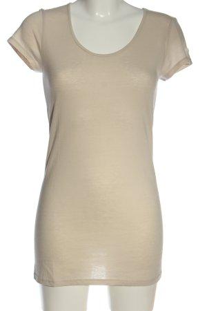 Nolita Camisa de cuello barco blanco puro look casual