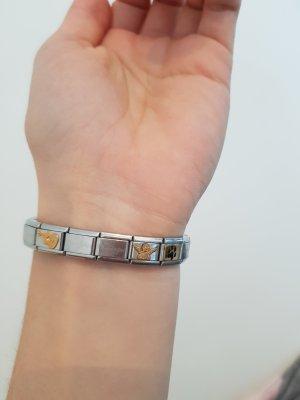 Nomination Armband mit 6 Motiv-Glieder