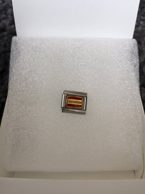 Nomination Charm yellow-red