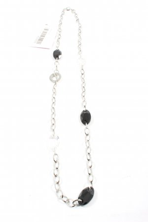 Nomination Collier Necklace silver-colored-black casual look