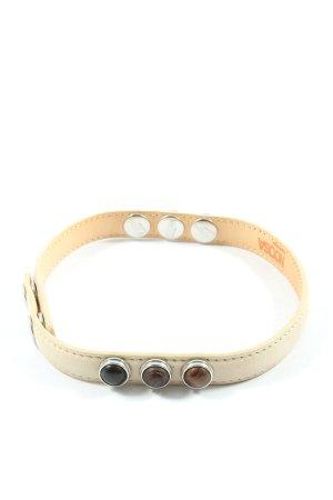 Noosa Amsterdam Bracelet de bras blanc cassé style décontracté