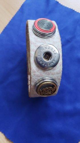 Noosa Bracelet en cuir blanc