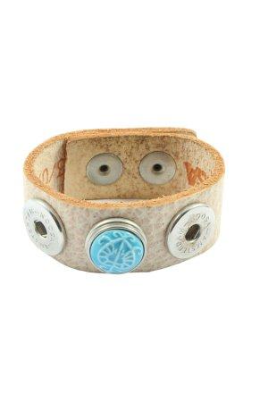 Noosa Armband wollweiß Casual-Look