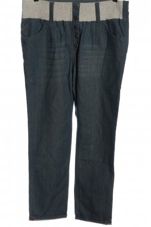 Noppies Baggy Jeans blue-light grey flecked casual look