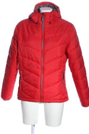 Nordcap Gewatteerd jack rood quilten patroon casual uitstraling