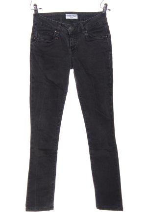 Nordenfeld Tube jeans zwart casual uitstraling