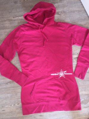 Nordswell Vw Bulli Bus Surf kite langer Hoodie Kapuzenpullover Gr.M 38 pink