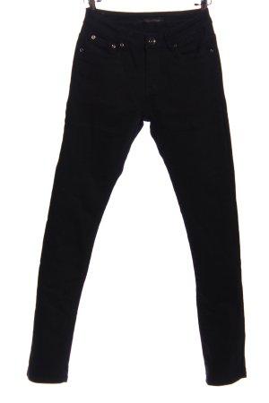 Norfy Pantalón de cinco bolsillos negro look casual