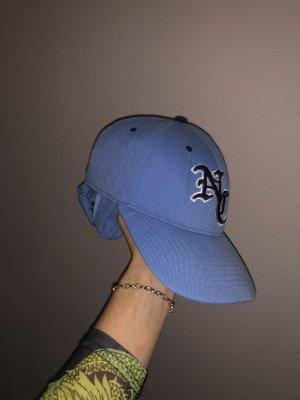 Berretto da baseball blu fiordaliso-blu acciaio