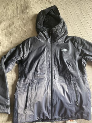 North Face Imperméable gris anthracite