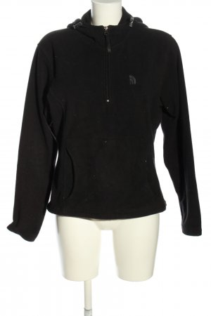 North Face Fleece Jumper black casual look