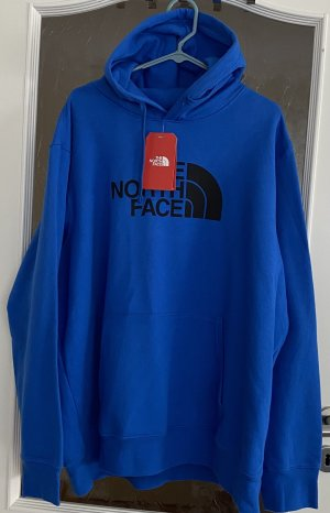 The North Face Hooded Sweater blue
