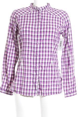 North Face Langarm-Bluse Karomuster klassischer Stil