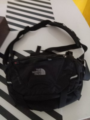 North Face Turn Bag black-silver-colored