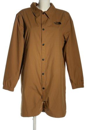 North Face Windstopper brązowy-czarny Wydrukowane logo W stylu casual