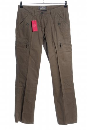 North Route Cargohose braun Casual-Look